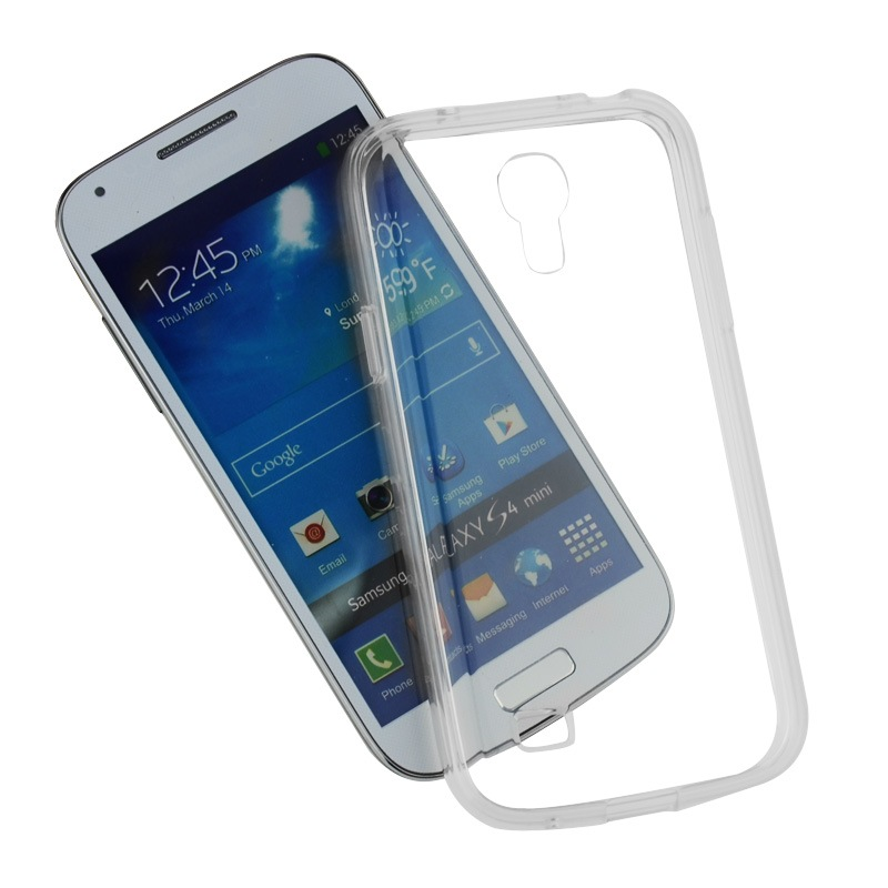 buy online 63cb6 fd0bc Details about SDTEK Gel Case for Samsung Galaxy S4 Mini Soft Silicone  Transparent Clear